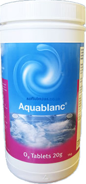 AquaSparkle Aquablanc Active Oxygen Tablets 1Kg