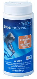 Blue Horizons 6 Way Test Strips