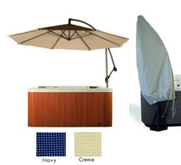 Spa Umbrella | Side Umbrella for Hot Tubs